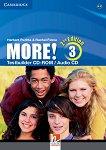 MORE! - ниво 3 (A2 - B1): CD с тестове Учебна система по английски език - Second Edition -