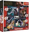 """Междузвездни войни - 4 пъзела в кутия от серията """"Star Wars"""" -"""