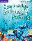 Cambridge Primary Path - ниво 5: Учебник по английски език + творчески дневник - помагало