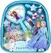 """Детски комплект с гримове в раница - Disney Frozen - От серията """"Замръзналото кралство"""" -"""