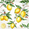 Салфетки за декупаж - Лимони - Пакет от 20 броя -