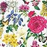 Салфетки за декупаж - Ботанически цветя - Пакет от 20 броя -