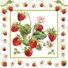 Салфетки за декупаж - Свежи ягоди - Пакет от 20 броя -
