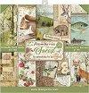 Хартии за скрапбукинг - Горски животни - Комплект от 10 листа с размери 20.3 x 20.3 cm -