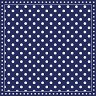 Салфетки за декупаж - Тъмно син фон на бели точки