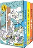 Супергероите Яв Кафяв, Ерлен Черен, Ина Синя - Комплект от 3 книги -