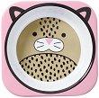 """Детска меламинова купичка - Леопардчето Лондон - За бебета над 6 месеца от серията """"Zoo"""" -"""
