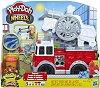 """Пожарна кола - Творчески комплект с моделин от серията """"Play-Doh:Wheels"""" -"""