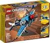 LEGO: Creator - Витлов самолет 3 в 1 - Детски конструктор -