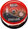 CD-R - 700 MB - 25 диска със скорост на записване до 52x -