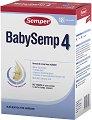 Преходно мляко - Baby Semp 4 - Опаковка от 800 g за бебета над 12 месеца -