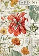 Декупажна хартия - Градински растения