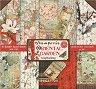 Хартии за скрапбукинг - Източна градина - Комплект от 10 броя с размери 20.3 x 20.3 cm -