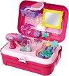 Куфарче за разкрасяване - Детски комплект с аксесоари -