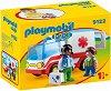 """Линейка - Детски конструктор от серията """"Playmobil: 1.2.3"""" -"""