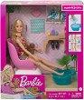 """Салон за маникюр и педикюр - Детски комплект за игра от серията """"Barbie"""" -"""