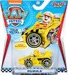"""Ръбъл в спортен автомобил - Детска метална играчка от серията """"Пес патрул"""" -"""