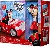 """Мини Маус с мини купър - Комплект детски играчки от серията """"Мики Маус"""" -"""