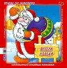 Весела Коледа - Пъзел в картонена подложка -