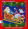 Дядо Коледа - Пъзел в картонена подложка -