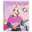 Топ Модел: Книжка за оцветяване с пайети - детска книга