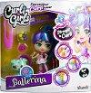 """Кукла и фигурка с накъдрящи се коси - Ballerina - В комплект с аксесоари от серията """"Curli Girls"""" -"""