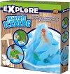 """Направи сам - Айсберг с динозаври - Детски образователен комплект от серията """"Откривател"""" -"""