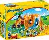 """Зоологическа градина - Детски конструктор от серията """"Playmobil: 1.2.3"""" -"""