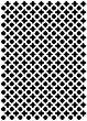 Шаблон - Декоративна решетка - Размери 21 х 29 cm -