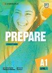 Prepare - ниво 1 (A1): Учебник по английски език Second Edition - учебник