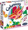 Оцветявай по номера - Пеперуди - Творчески комплект с акрилни бои -