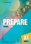 Prepare - ниво 1 (A1): Учебна тетрадка по английски език + онлайн материали : Second Edition - Garan Holcombe -