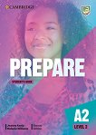 Prepare - ниво 2 (A2): Учебник по английски език : Second Edition - Joanna Kosta, Melanie Williams -