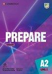 Prepare - ниво 2 (A2): Учебна тетрадка по английски език + онлайн материали Second Edition - учебник