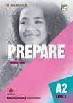 Prepare - ниво 2 (A2): Книга за учителя по английски език + допълнителни материали : Second Edition - Emma Heyderman -