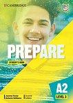 Prepare - ниво 3 (A2): Учебник по английски език Second Edition - учебник