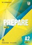 Prepare - ниво 3 (A2): Учебна тетрадка по английски език + онлайн материали Second Edition - учебник