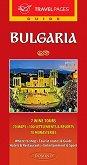 Пътеводител на България на английски език - карта
