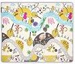 Двулицево килимче за игра - Matty - С размери 180 x 150 cm -