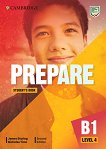 Prepare - ниво 4 (B1): Учебник по английски език Second Edition - учебник