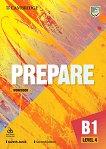 Prepare - ниво 4 (B1): Учебна тетрадка по английски език + онлайн материали Second Edition - учебник