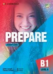Prepare - ниво 5 (B1): Учебник по английски език Second Edition - учебник