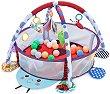 Активна гимнастика - Ladybug - Комплект с 30 топки за игра -