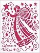 Шаблон - Коледен ангел