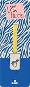 Метален книгоразделител - щипка: Зебра -