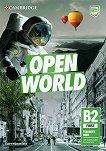 Open World - ниво First (B2): Книга за учителя + допълнителни материали : Учебна система по английски език - Claire Wijayatilake -