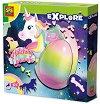 """Яйце с изненада - Еднорог - Детска играчка от серията """"Откривател"""" -"""