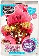 """Прасенцето Прешъс - Комплект плюшена играчка и аксесоар от серията """"Sequin Cuties"""" -"""