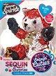"""Лисицата Руби - Комплект плюшена играчка и аксесоар от серията """"Sequin Cuties"""" -"""