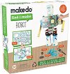 Създай сам от рециклирани материали - Робот -